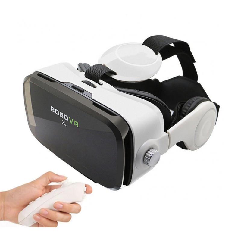 Віртуальні відео-окуляри Bobo VR Z4 з пультом джойстиком, 3D Шолом віртуальної реальності для смартфона,