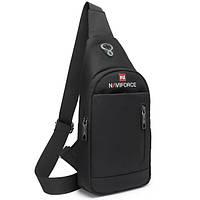 Городской рюкзак Naviforce City Small  с отделениями дляпланшета,блокнота,кредитных карточек и кошелька,32 см