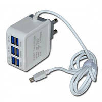 Зарядный блок на 6 usb Fast Charge 9.1Amax