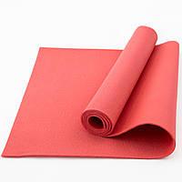 Коврик (каремат) для йоги, фитнеса, танцев OSPORT Колибри (FI-0077) Красный