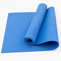 Коврик (каремат) для йоги, фитнеса, танцев OSPORT Колибри (FI-0077) Синий