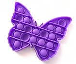 Pop It сенсорная игрушка, пупырка, поп ит антистресс, pop it fidget, попит, бабочка, фото 3
