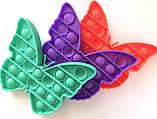 Pop It сенсорная игрушка, пупырка, поп ит антистресс, pop it fidget, попит, бабочка, фото 2