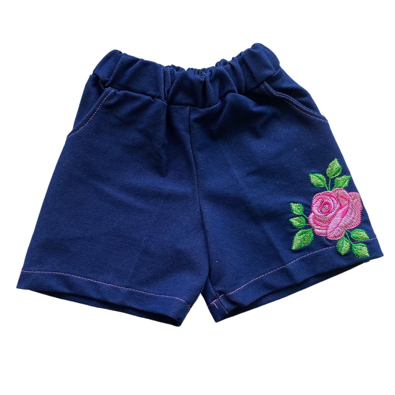 Дитячі шорти для дівчинки під джинс, 110см