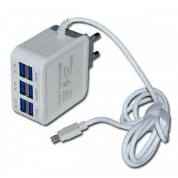 Сетевой блок Fast Charge 6 usb 9.1Amax