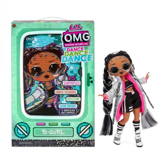 Набір з лялькою L. O. L. Surprise! серії O. M. G. Dance - Брейк - данс Леді 117858