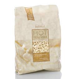 """Віск для депіляції гарячий плівковий в гранулах """"Білий Шоколад"""", 1 кг ItalWax"""