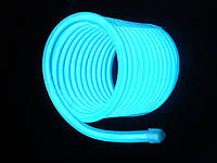 Холодный неон / электролюминисцетный провод 3-го поколения 2,6 мм, бирюза (розница, опт)