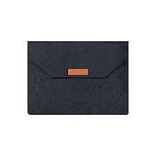 Войлочная обложка AIRON Premium для ноутбука 13.3''  Dark Grey