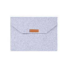 Войлочная обложка AIRON Premium для ноутбука 15.6''  Grey