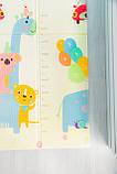 Термоковрик детский( Аттракцион/Ростомер) 1,5 на 2 м, фото 5