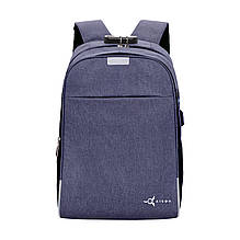 Рюкзак для ноутбуку AIRON Lock 18 л Blue