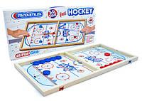 Настольная игра Быстрый хоккей, 5461, для детей от 3 лет, в коробке, Подарок для ребенка, Детский настольный