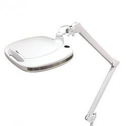 Настольная лупа-лампа на струбцине с LED подсветкой (холодный свет) 6030 Led (3 диоптрии 12W) для косметологии 5