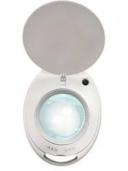Косметологічна лампа-лупа світлодіодна 6014 LED 3D з регулюванням яскравості світла 1-12W