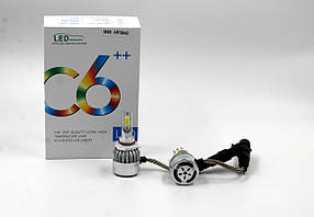 Комплект LED ламп C6 в туманки HB3/9005