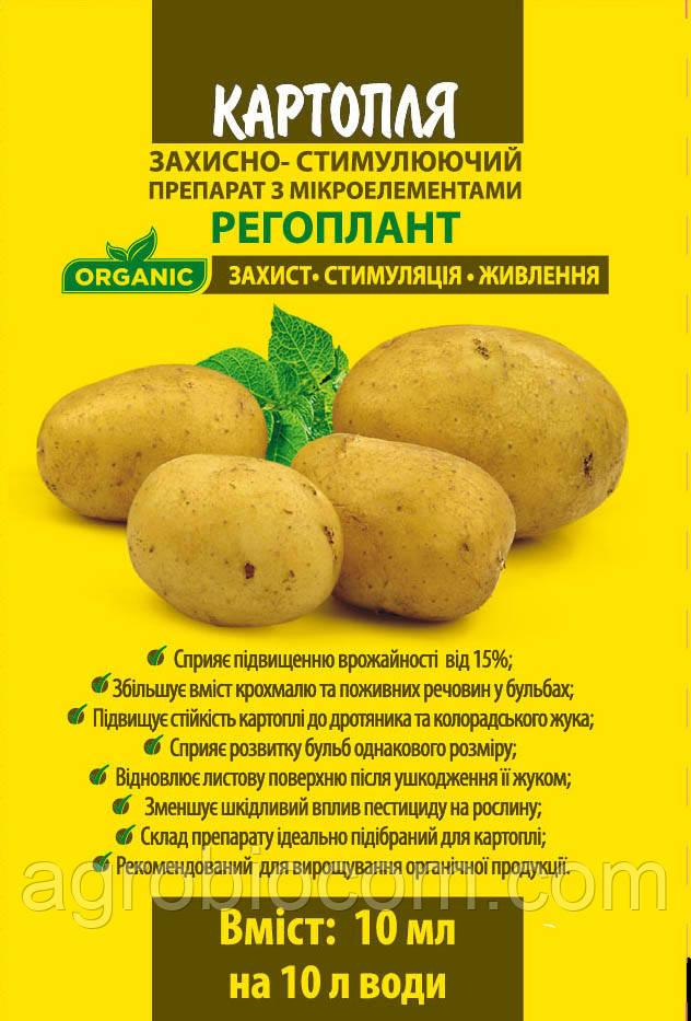 Регулятор росту рослин Регоплант для Картоплі, 10 мл.