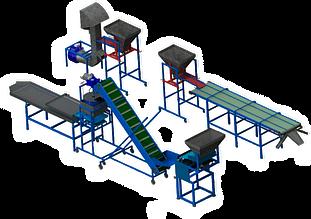 Промышленные линии для переработки грецкого ореха