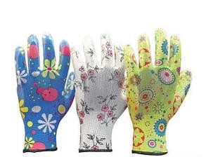 Защитные перчатки садовые