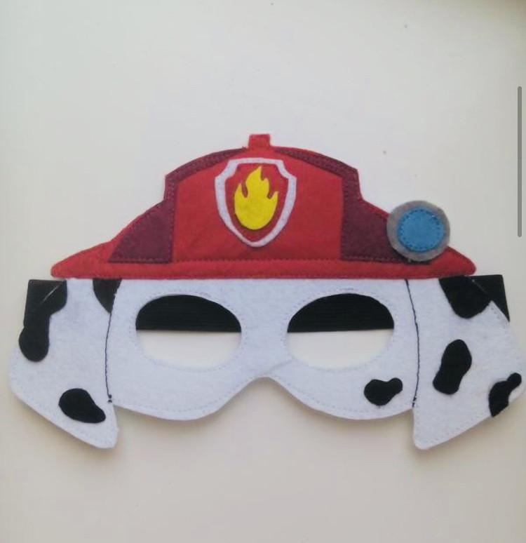 """Детская маска """"Paw Patrol"""" Щенячий патруль (Маршал) многоразовая"""