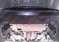 Защита двигателя Киа Спортейдж 2 вместо выльника (стальная защита картера вместо пыльника Kia Sportage 2)