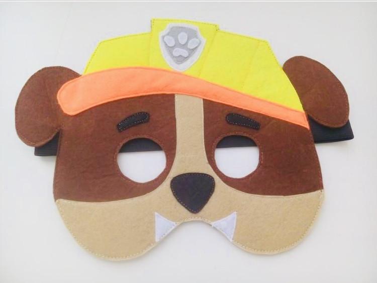 """Детская маска """"Paw Patrol"""" Щенячий патруль (Крепыш) многоразовая"""