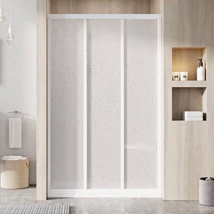 ASDP3-90 198 (Pearl) White Душі двері, фото 2