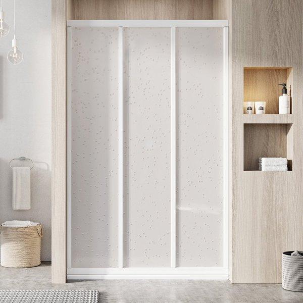 ASDP3-120 198 (Pearl) White Душевая дверь