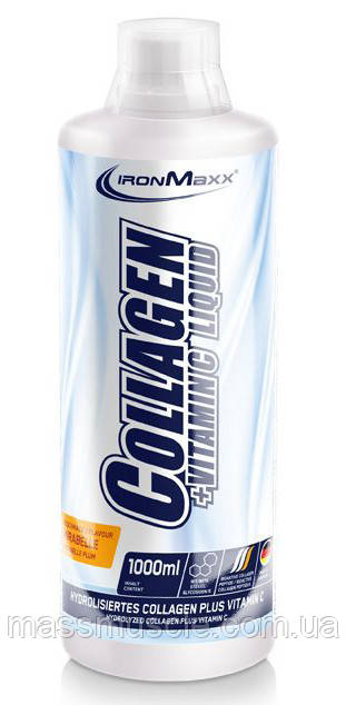 Хондропротектор IronMaxx Collagen + Vitamin C Liquid - 1000 мл