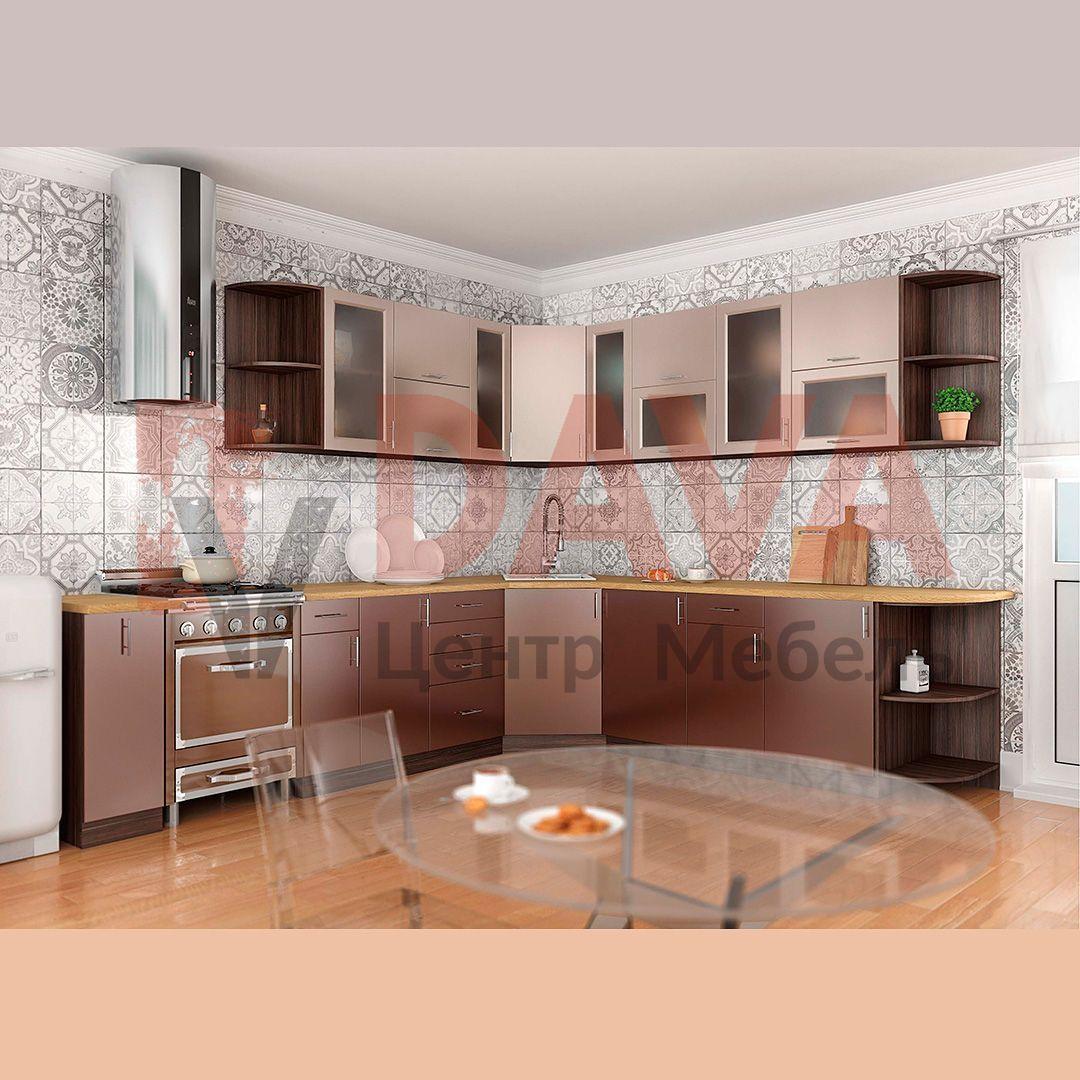 Кухні сучасного стилю Київський Стандарт. Плівкове МДФ фасади. Набір 33