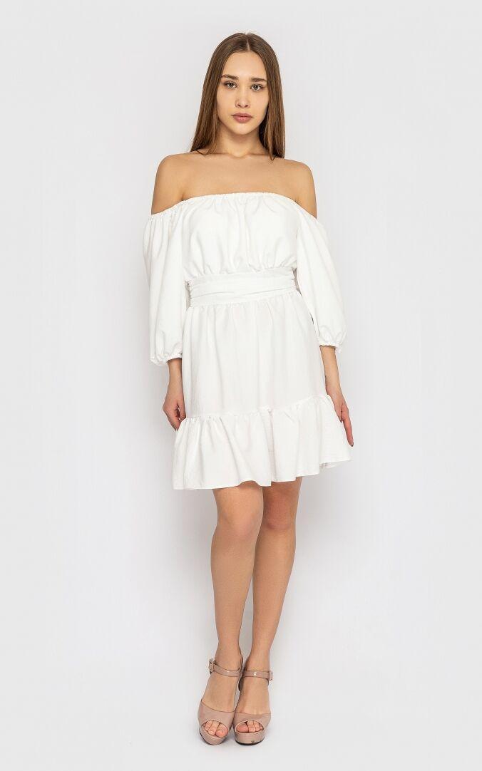 Платье женское, цвет: белый, размер: XL, S, M, L