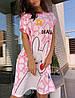 Ночнушка жіноча. Відмінна якість!!! Яскраві моделі!!! Хіт продаж!!!🎃, фото 2