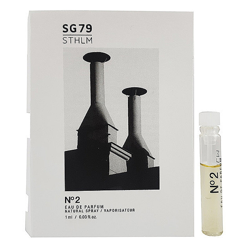 SG79 STHLM № 2 Парфюмированная вода (пробник) 1ml