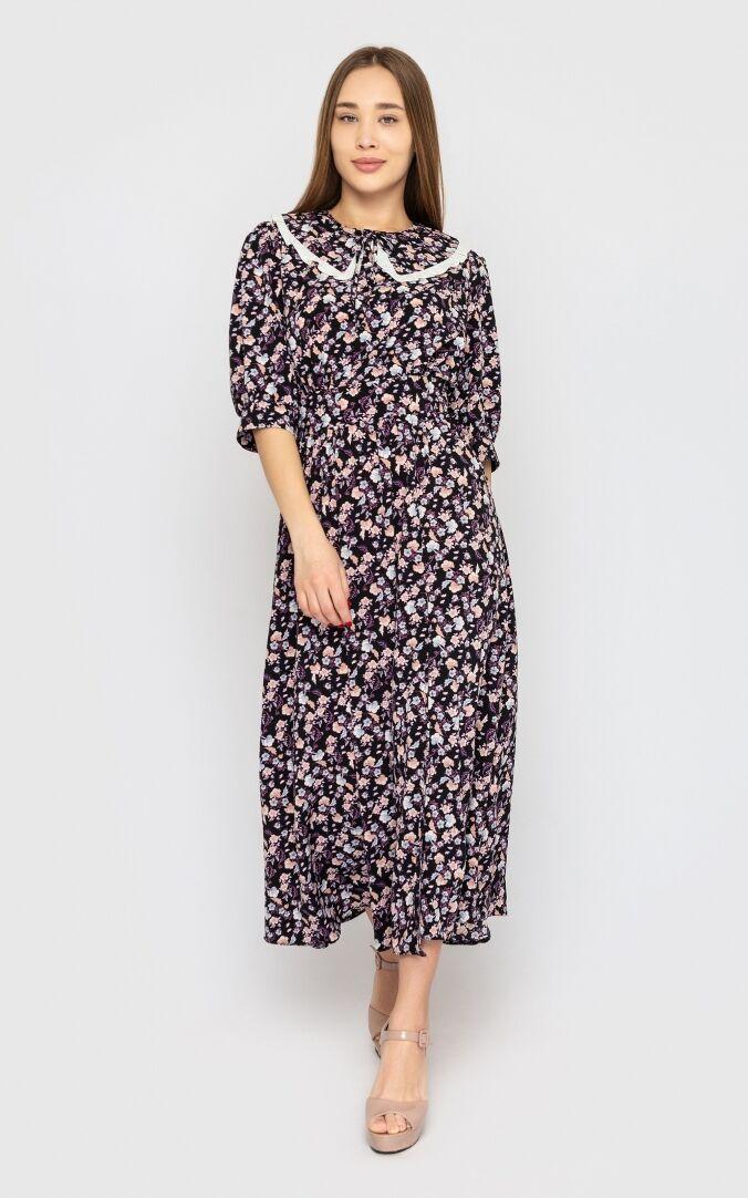 Літня жіноча сукня 2021 модна красива  колір: чорний, розмір: L, M, S, XL