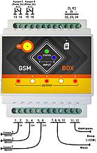 SMS СМС реле ребутер терморегулятор многоканальный GSM управление с телефона (оповещение 220В)