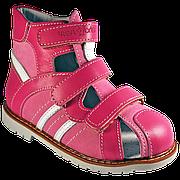 Ортопедические детские сандалии для девочки 06-148 р-р. 21-30