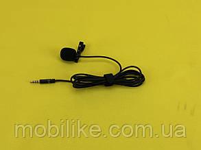 Блогерский Микрофон с  петличкой с разъемом Jack 3.5 мм Lavalier KM-002