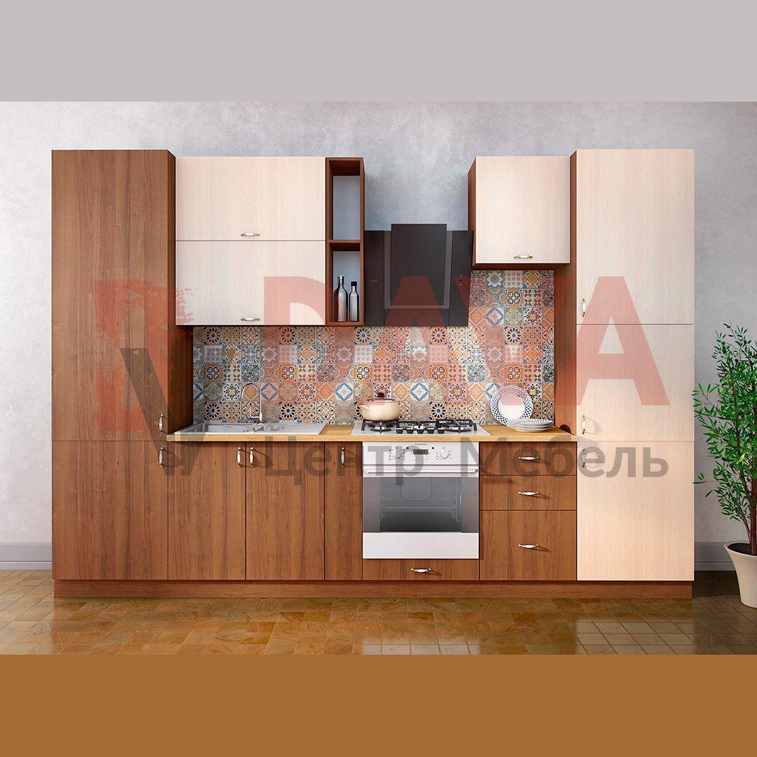 Кухня современного стиля Киевский стандарт. Фасады ДСП. Набор 28