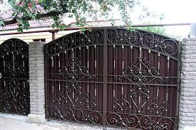 Ковані ворота креслення