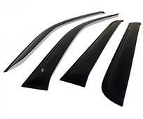 Ветровики дефлекторы окон Acura RSX 2002-2006/Honda Integra 2002-2006 Cobra Tuning A20702 Стандарт
