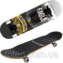 Скейтборд Maraton Winner 79*20 см трюковый деревянный 9 слоев клена