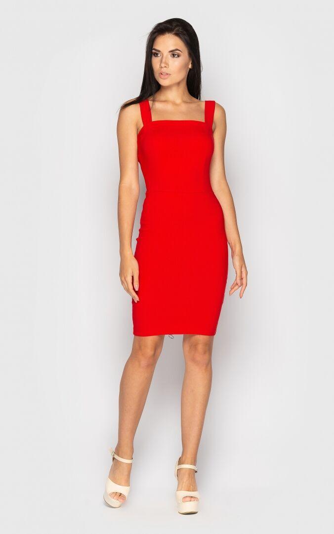 Сукня жіноча, колір: червоний, розмір: L, M, S