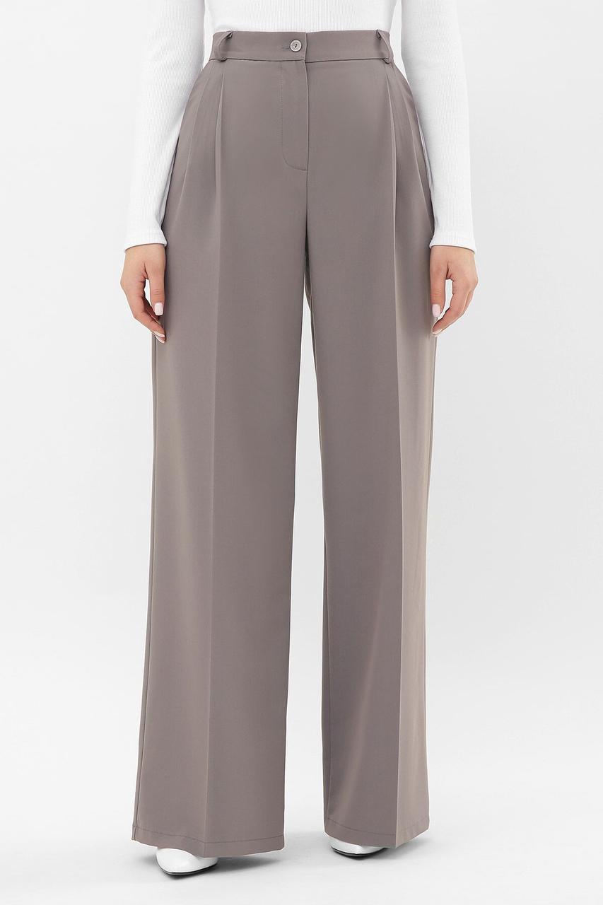 Брюки женские, цвет: серый, размер: S, M, L, XL
