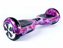 Гироборд Smart Balance 6.5 inch Фиолетовый космос APP