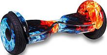 Гироборд Smart Balance 10,5 inch Огонь и лёд APP