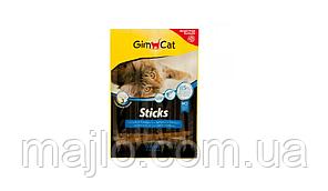 GimCat Sticks Salmon & Trout Ковбаски для кішок з лососем і фореллю 4 шт (G-400778)