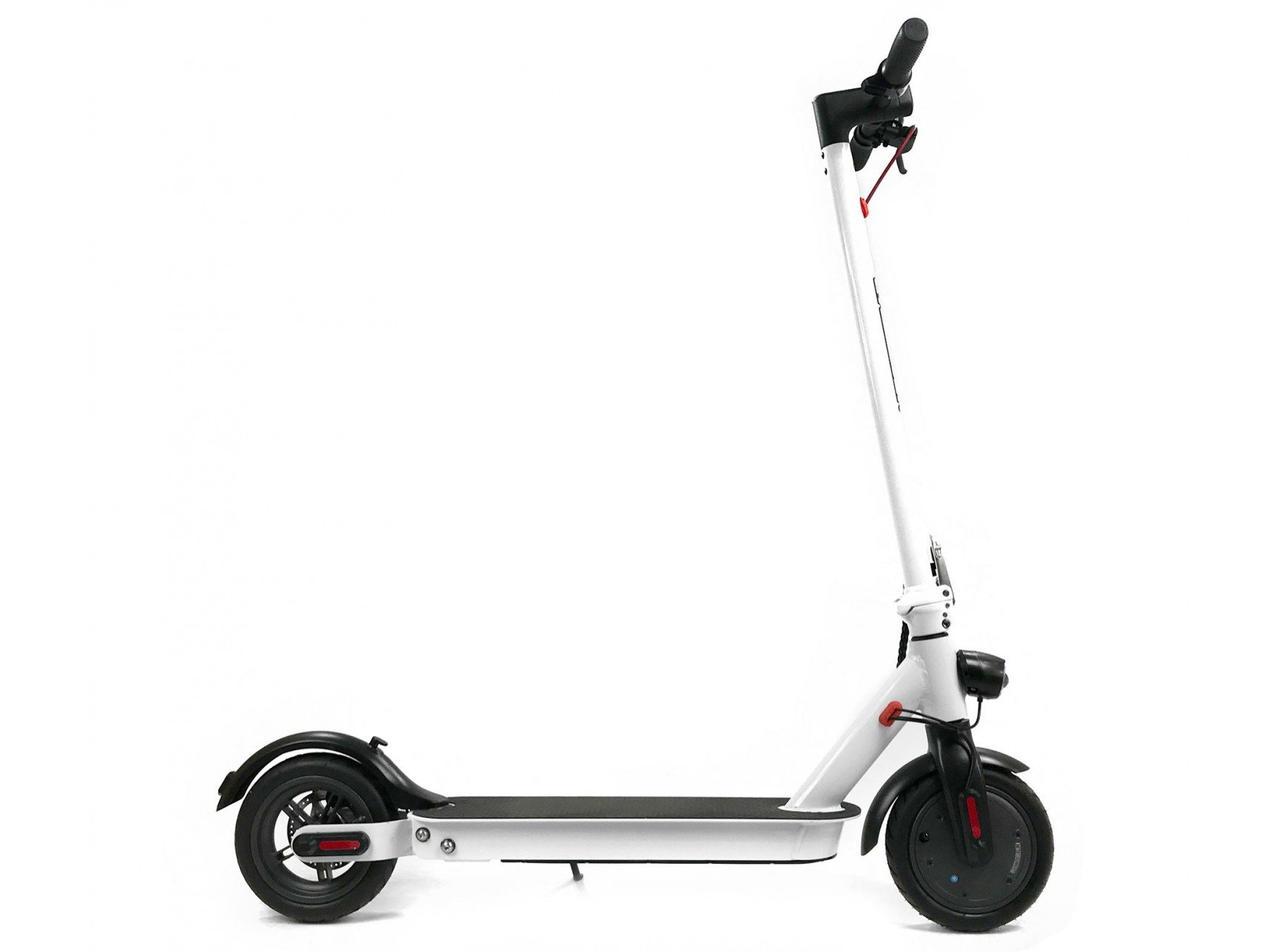 Электросамокат Crosser E9 Premium Перфорация 10 inch (7,5Ah) - Белый