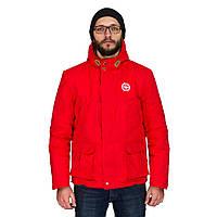 Чоловіча осіння куртка White Sand Night Screen Jacket червона. До -5 °С., фото 1