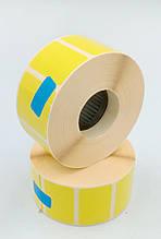 Mobitehnika Термоэтикетка для этикеточных принтеров Т.еко пантон жёлтая 30*20 1000шт вт. 25мм