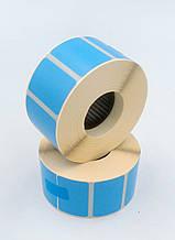 Mobitehnika Термоэтикетка для этикеточных принтеров Т.еко пантон синяя 30*20 1000шт вт. 25мм